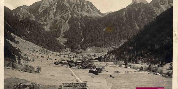 Partenen um 1920