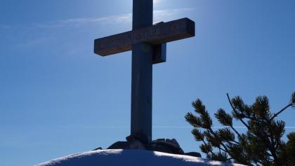 Kleines Gipfelkreuz vom Brunnkogel Süd, 1508 m.
