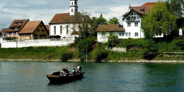 Rheinfähre Kadelburg