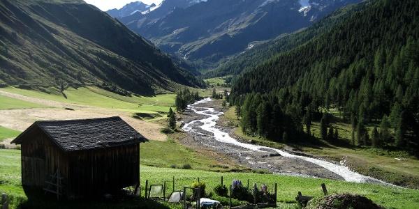 Das Melager Tal