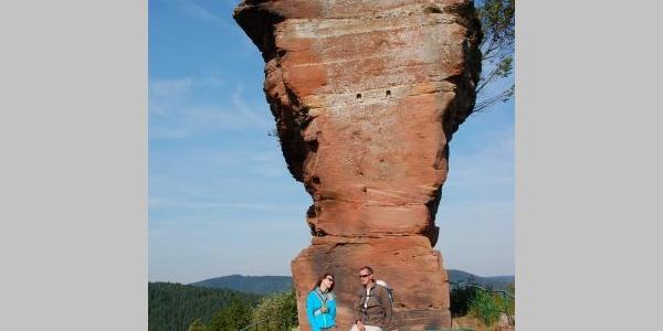 Burgruine Drachenfels bei Busenberg