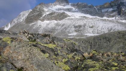 Hüttenblick auf Barmer Spitze