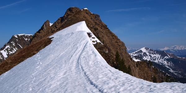 Schlussgrat zur Mittleren Gstemmerspitze 2104 m