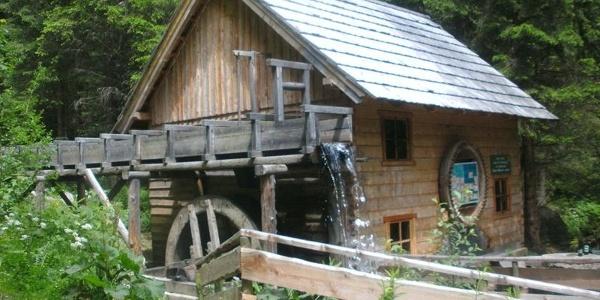 Mühle Naturerlebnisweg Granitzenbach