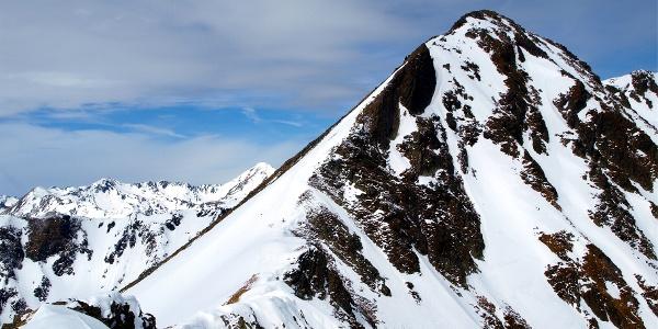 Deneck 2433 m vom Schafspitz