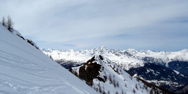 Rückblick zur Ultenspitze.