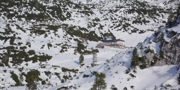 View upon Gjaidalm