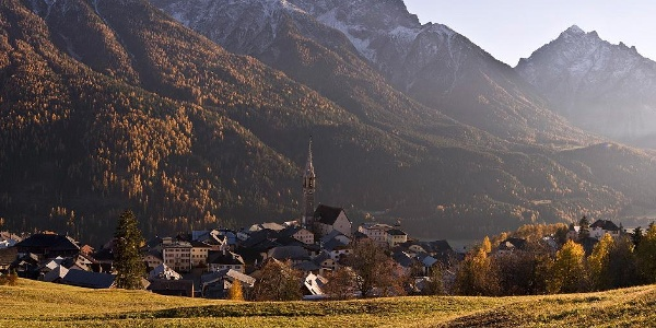 443: Fimberpass - Val d'Uina - Reschenpass: Etappe 2, Sent - Mals