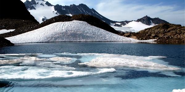 Eissee 2770 m unterm Vermuntkopf