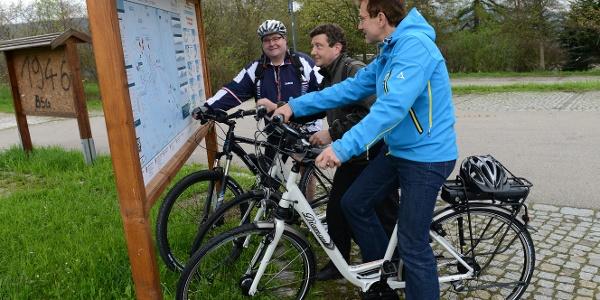 E-Biken im Westerzgebirge