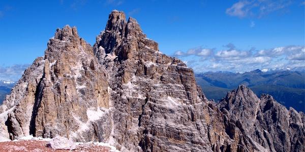 Schusterplatte 2957 m mit Dreischusterspitze