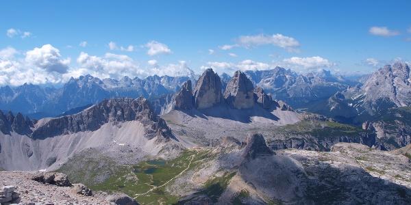 Panoramablick von der Schusterplatte