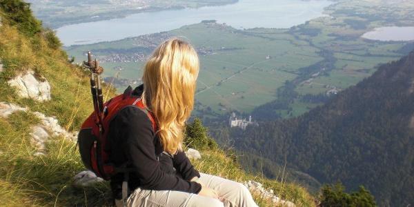 Königlicher Ausblick auf Schloss Neuschwanstein