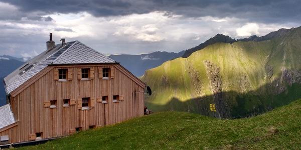 Sonnenuntergang an der Gleiwitzer Hütte